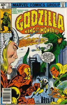 Godzilla King of the Monsters #23 Marvel Comics