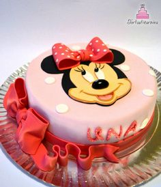 Minnie Mouse - Cake by Nataša
