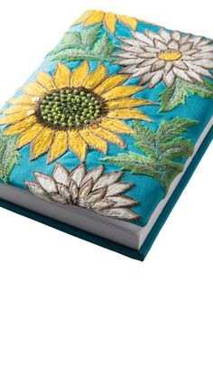 sunflower embroidery