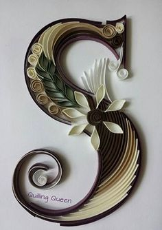 Квиллинг и бумажное творчество - S - Quilled by: Quilling Queen                                                                                                                                                                                 More