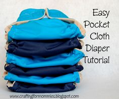 Easy pocket cloth diaper tutorial with velcro not sure about the velocro ?