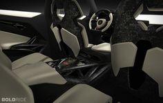 Lamborghini Urus inside.
