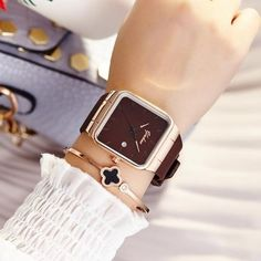 Backpack gold watches Silicone Square Women's Quartz Simple Cheap Watches 2018 Brand Women Watches Women Silicone Square reloj mujer Luxury Dress Watch Ladies Quartz Rose Gold Wrist Watch Montre Femme From Touchy Style Outfit Accessories ( Brown ) Cheap Watches, Cool Watches, Stylish Watches, Wrist Watches, Modern Watches, Elegant Watches, Women's Watches, Datejust Rolex, Teenager Fashion Trends