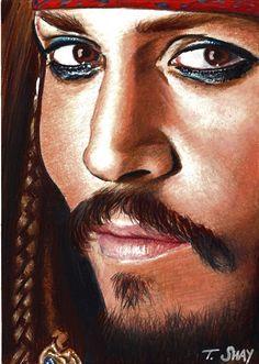 Capt. Jack Sparrow Sketch by ~Dr-Horrible on deviantART