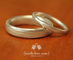 River Wedding Band from Turtle Love; also tree of life wedding bands have amethyst option