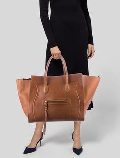b91d9b039b659 Celine Céline Large Luggage Phantom Tote - Handbags - CEL82927