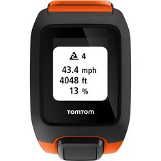 TomTom Adventurer Cardio + Music HP | Orange