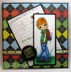 Send A Smile 4 Kids Challenge Blog: TEAM S.A.S. card by Sarah