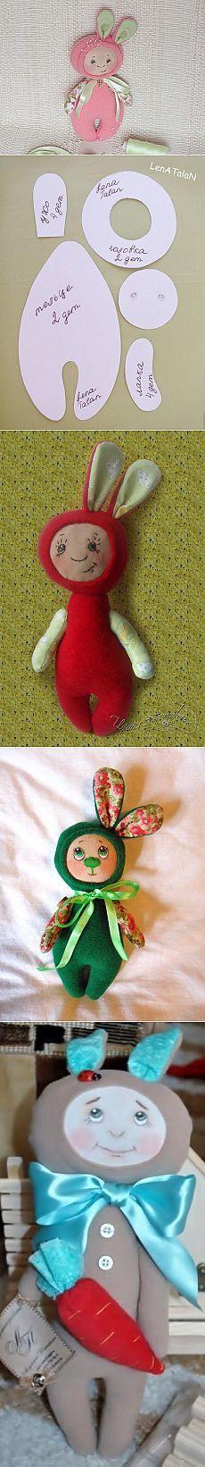 Мастер-класс: зайка-малышка Мелисса... - Ярмарка Мастеров - ручная работа, handmade