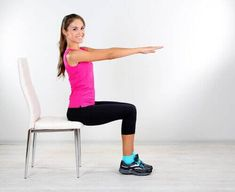 Think you can't squeeze in a workout since you sit a desk all day? Think again and give this leg strengthening workout video a try today and improve your fitness while you sit! Body Fitness, Fitness Diet, Fitness Motivation, Health Fitness, Fitness Workouts, Key Health, Health Exercise, Ab Workouts, Health Diet