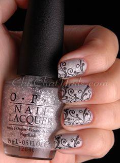 Stamped Manicure #BundleMonster BM-314 #nails