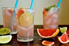 Honey Grapefruit Margarita Recipe | ¡HOLA! JALAPEÑO