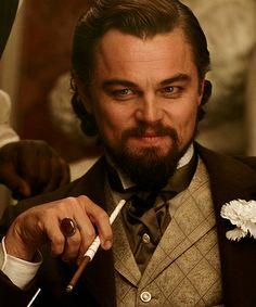 Leonardo DiCaprio as Calvin Candie in Django Unchained