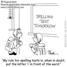 Don't know how to spell a word? Follow this rule. Therapy Humor, Speech Therapy, Teacher Quotes, Teacher Humor, Speech Language Pathology, Speech And Language, Spelling Test, Grammar School, Teacher Inspiration