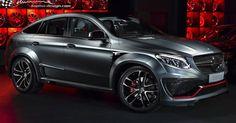 Lumma's CLR G800 Is A Mercedes-Benz GLE Coupe On Steroids #Lumma_Design #Mercedes