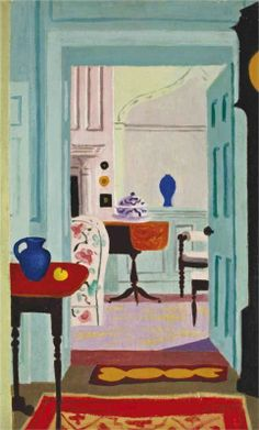 Jean Hugo (French, 1894-1984). Le salon blanc, 1959