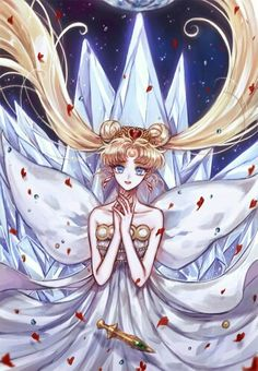 Beautiful face Neo Queen Serenity :)