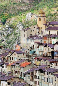 SAORGE~ A hill top village in the arrière pays of Nice, on the Côte d'Azur, France   by Alexandre Fundone