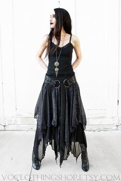 Hey, I found this really awesome Etsy listing at https://www.etsy.com/listing/236632113/witchy-layered-mesh-long-sheer-skirt