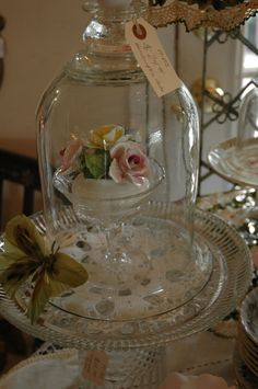 repurposed cloche