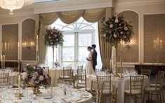 Hand painted silk lined walls, priceless Waterford Crystal Chandeliers and customised furnishings, our ballrooms are the perfect backdrop to your big day.
