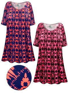 467dd4181c8 SOLD OUT! Customizable Neon Abstract Print Plus Size   Supersize Extra Long  T-Shirts 0x 1x 2x 3x 4x 5x 6x 7x 8x 9x!