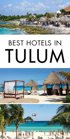 The ultimate travel guide to the best hotels in Tulum, Mexico. Don't spend hours researching on where to stay in Tulum. Click the pin to find out what the best places to stay in Tulum are.