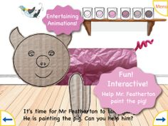 Calling all little artists! Here's your chance to draw, color, and dress-up your very own piggy w/ Scribballo! Can You Help, Creative Kids, Elementary Schools, App Design, Mobile App, Little Ones, Art App, Have Fun, Outdoor Blanket