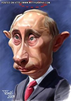 Vladimir Putin of Russia..Prime Minister..President ..Prime Minister Can't make up his mind