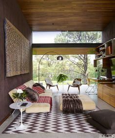 Beau HOUSE TOUR: Modern Furniture Meets Playful Design Inside A Mexican Tree  House