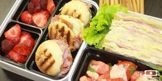 Seriously thinking about doing bento boxes for lunch when school starts back up - those little sandwiches are awesome looking! tumblr_ltnyyuEWbn1r0cxdco1_1280.jpg (600×300)