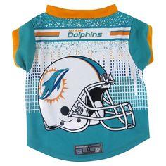 NFL Miami Dolphins Pet Performance T-Shirt - Large