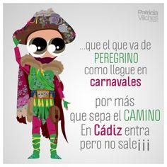 Los Peregrinos #coac2017 #carnavaldecadiz #lacomparsadejuancarlos #juancarlosaragon #ilustracioncarnaval #ilustracion #carnaval