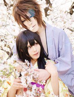 Souji Okita & Yukimura Chizuru (cosplay)
