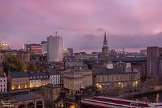 Newcastle skyline