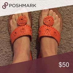 Palm beach sandal co. Orange. Size 6. Palm beach sandal co. Orange. Size 6. Palm beach sandal co Shoes Sandals