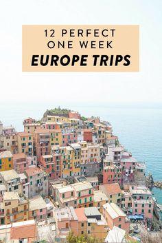12 Perfect One Week Europe Trips, Part II