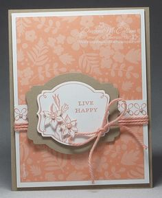 SU You're Lovely, Sweet Sorbet DSP, Sweet Sorbet Accessory Pack-twine, Deco Labels Collection Framelits (Jan 31, 2014)