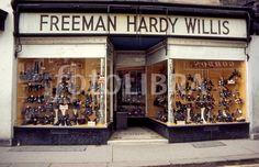 Freeman Hardy Willis, I loved this shop