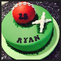 Cricket cake #sport