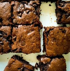 Recipe Magik - Page 36 of 43 - Eat Homemade Feel Great Best Summer Desserts, Summer Dessert Recipes, Desert Recipes, Easy Desserts, One Bowl Brownies, Banana Brownies, Ripe Banana Recipe, Chocolate Butter, Easy Meals For Kids