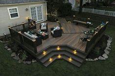 Make your deck THE hangout spot this summer. #backyardgoals