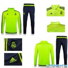 Nouveau Survetement Real Madrid Vert 15 2016 2017 Prix Pas Cher