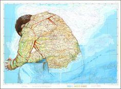 Laura Willis - Map Drawings