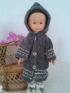 Le petit monde d'Emilie et ses amis: Le manteau de Chloé, compatible poupée Chéries, Pa...