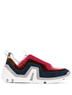 PIERRE HARDY LAYERED DESIGN SNEAKERS. #pierrehardy #shoes Buy Shoes, Nike Shoes, Shoes Sneakers, Women's Designer Trainers, Pierre Hardy, Layers Design, World Of Fashion, Designing Women, Calf Leather