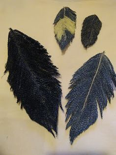 How to make denim feathers for your creations.
