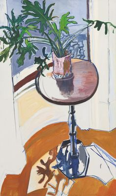 "urgetocreate: ""Alice Neel, Plant in the Window, 1964 """