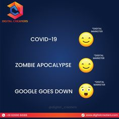 Nothing strikes harder for a digital marketer than the time when Google goes Down! Contact: +916269066189. Visit us for services related to Digital Marketing and SEO etc. #google #serverdown #down #server #internet #online #googleranking #websiteranking #marketingworld #marketingdigital #onlineworld #digitalmarketer #reaction #growyourbusiness #digitalmarketing #marketingservices #digitalcreaters #DC #socialmediamarketing #onlinebusiness #services #onlinemarketing #SEO #marketing Best Marketing Companies, Best Digital Marketing Company, Seo Marketing, Digital Marketing Services, Online Marketing, Social Media Marketing, Business Website, Online Business, Best Web Development Company
