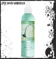 Brand New Avon NATURALS Cucumber Melon Refreshing Body Spray- Full Size!